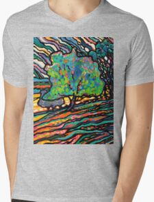 The Wind and The Willow Mens V-Neck T-Shirt