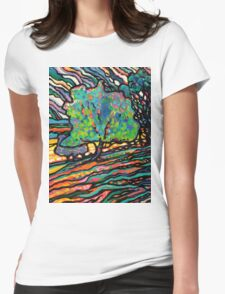 The Wind and The Willow Womens Fitted T-Shirt