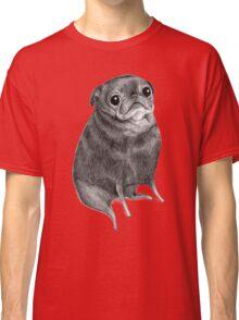Sweet Black Pug Classic T-Shirt