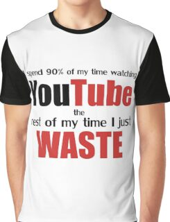 Watching YouTube Graphic T-Shirt