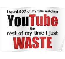 Watching YouTube Poster