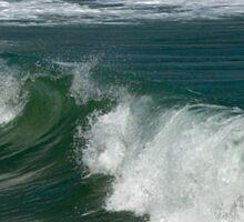 Ocean whisper Sticker
