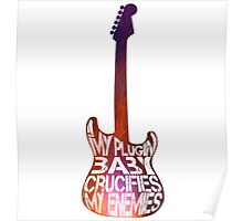Muse Plugin Baby - guitar Poster