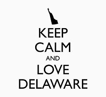 KEEP CALM and LOVE DELAWARE Unisex T-Shirt