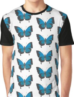 Male Ulysses Butterfly Design Graphic T-Shirt