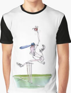 England Cricket spin bowler - tony fernandes Graphic T-Shirt