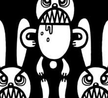 The Threefold Terror Sticker