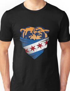 Chicago flag bear Unisex T-Shirt
