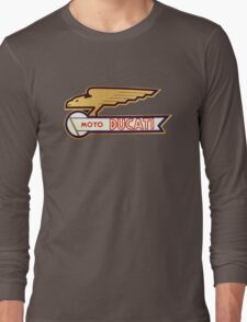 DUCATI VINTAGE LOGO BADGE Long Sleeve T-Shirt