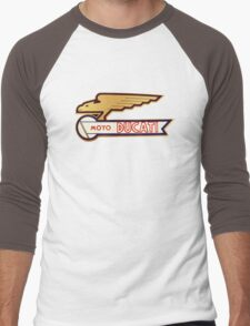 DUCATI VINTAGE LOGO BADGE Men's Baseball ¾ T-Shirt