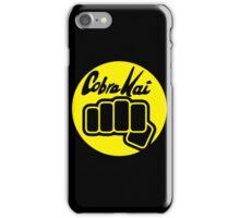 Cobra Kai Punch iPhone Case/Skin