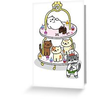 Neko Atsume Party! Greeting Card