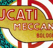 DUCATI MECCANICA VINTAGE LOGO Sticker