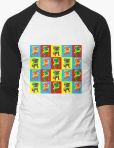 Puggy Love Men's Baseball ¾ T-Shirt