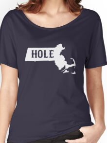 Massachusetts Masshole Women's Relaxed Fit T-Shirt