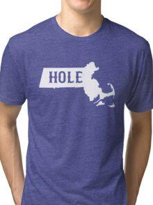 Massachusetts Masshole Tri-blend T-Shirt