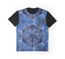 Deep Dream Elephant Graphic T-Shirt