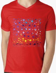 Bubbly Sunset Mens V-Neck T-Shirt