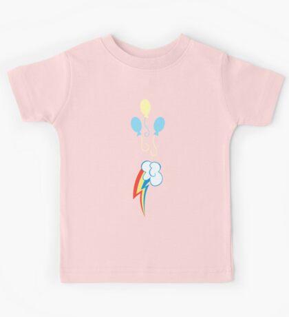 My little Pony - Pinkie Pie + Rainbow Dash Cutie Mark V2 Kids Tee