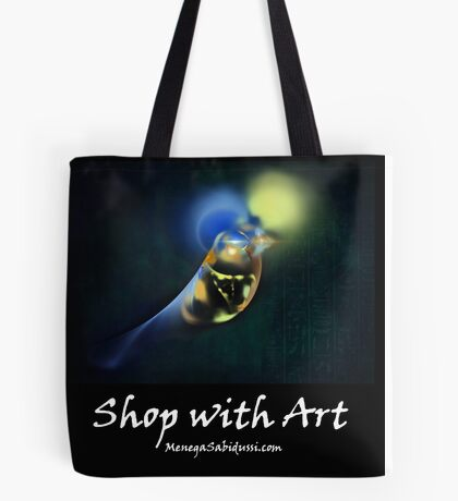Horus Egyptian God of the Sky - Shop with Art Tote Bag