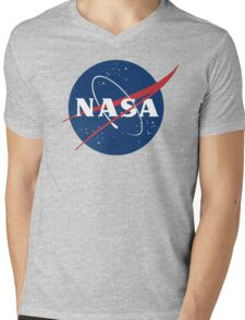 Nasa Mens V-Neck T-Shirt