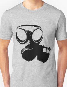 Gasmask BW Unisex T-Shirt