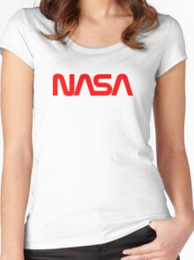 Nasa 2000 Women's Fitted Scoop T-Shirt