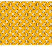 Baby Chick Yellow Pattern Photographic Print