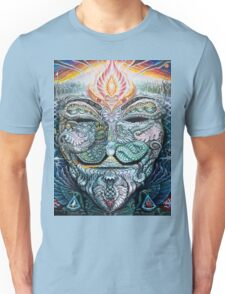 PSYCHEDELIC Anonymous Unisex T-Shirt