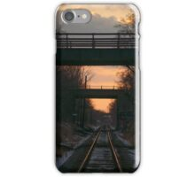 Bridges Over The CP Tracks iPhone Case/Skin