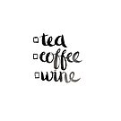 Tea, coffee or wine? by Amy Lewis