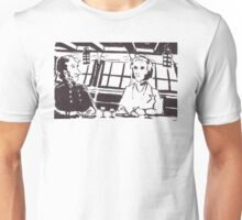 Captain FitzRoy and Charles Darwin on the HMS Beagle Unisex T-Shirt