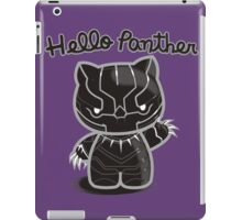 HELLO PANTHER iPad Case/Skin