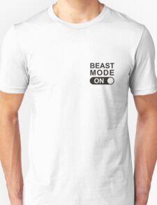 Beast mode on great gamer T-Shirt