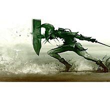 Spin Attack Zelda Photographic Print