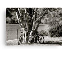 Anyone for a bike ride?  Canvas Print