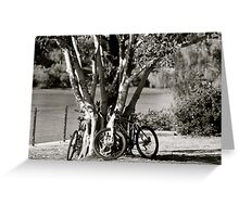 Anyone for a bike ride?  Greeting Card