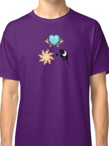 My little Pony - The Three Princesses of Equestria Cutie Mark V3 Classic T-Shirt