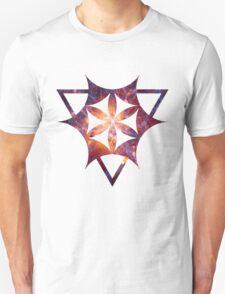 Sacred Geometry Space III - White Unisex T-Shirt