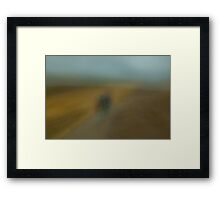 Without A Title # 11 Framed Print