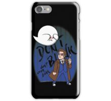 Don't Blink Boo & Dr.who iPhone Case/Skin