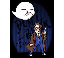 Don't Blink Boo & Dr.who Photographic Print