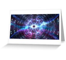 Eye Of The Universe Greeting Card