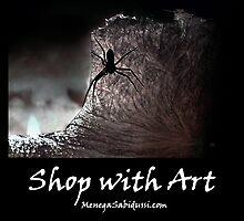 The Spider on the Candle - Shop with Art by Menega  Sabidussi