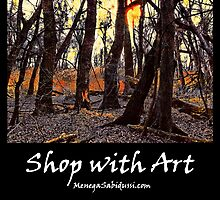 In the Prater Woods - Shop with Art by Menega  Sabidussi