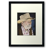 Old Cowpoke Framed Print