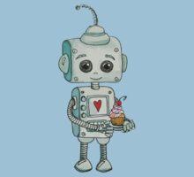 Robot One Piece - Short Sleeve