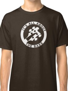 IT'S ALL ABOUT THE BASS RICKENBACKER Classic T-Shirt