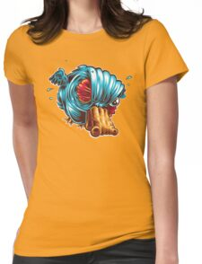 Q is for Quack Fart Womens Fitted T-Shirt