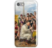 Beach - Toes Tenderly Treated 1922 iPhone Case/Skin